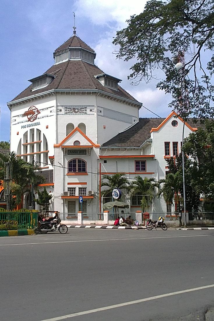 Kantor Pos Lama Medan Medan 1001malam Com